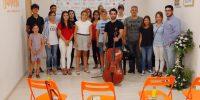 Imagen de los alumnos de Pablo Ferrández en las Clases Magistrales de Bambera