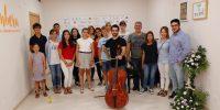 Alumnos de las masterclass de Pablo Ferrández