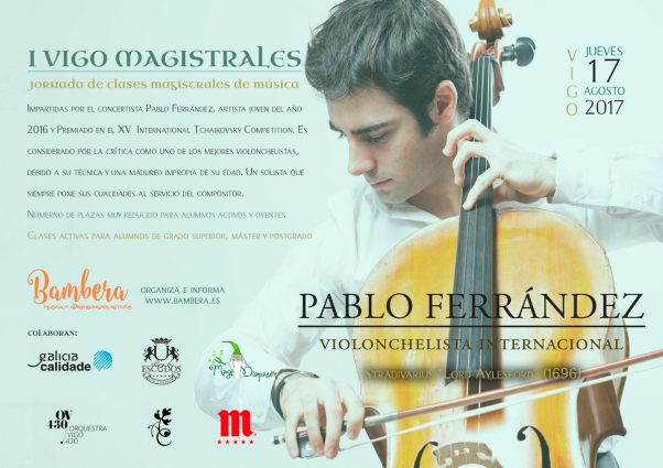 Masterclass violonchelo por Pablo Ferrández