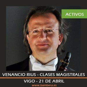 Alumnos activos masterclasses Venancio Rius