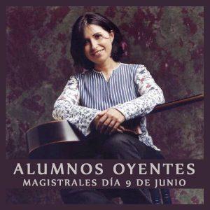Masterclass con Margarita Escarpa